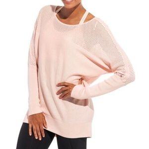Calia Mesh Panel Dolman Sweater Small (526)
